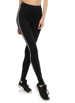Running Graphic Leggings - 1059062907305
