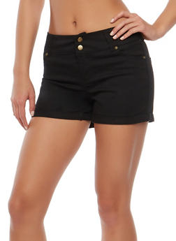 Two Button Cuffed Shorts - 1060051061651