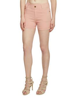 Super Stretch Cuffed Basic Shorts - 1060072711161