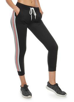 Side Stripe Joggers - 1061051063597