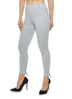 Lace Up Leg Pants - 1061051063610