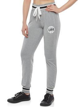 Marled Love Graphic Sweatpants - 1061051063644