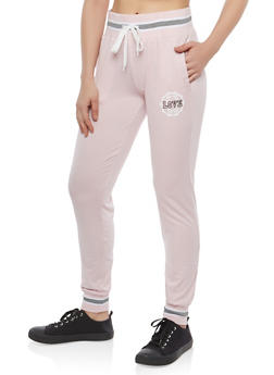 Marled Love Graphic Sweatpants - 1061051063644