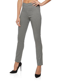 Printed Dress Pants - 1061062415261