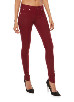Solid Stretch Jeggings - 1061069698109