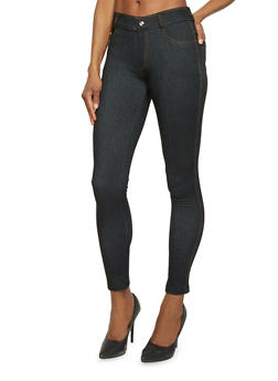 Basic 5 Pocket Jeggings - 1061072711519
