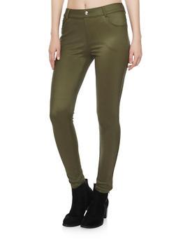 Stretch Knit Skinny Pants - 1061072716931