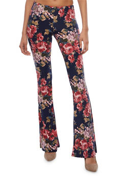Printed Flared Pants - 1061074015798