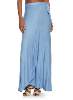 Maxi Wrap Skirt - 1062020623344