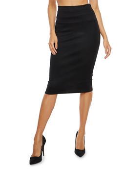 Ponte Pencil Skirt - 1062074011516