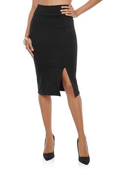 High Waisted Penci Skirt - 1062074011535