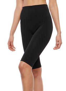 Black Spandex Bike Shorts - 1068041458226