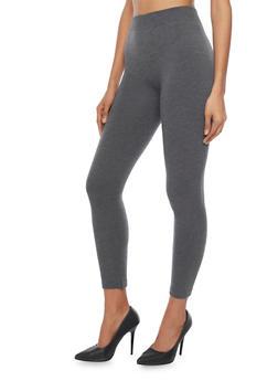 Leggings with Fleece Lining - 1069041458122