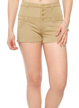 Almost Famous High-Waisted Short Shorts - 1070015995747