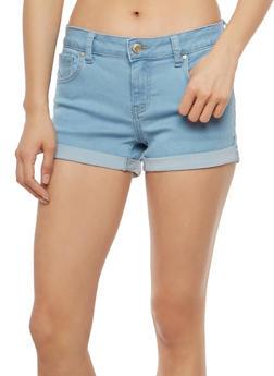 WAX Push Up Jean Shorts - 1070071619226