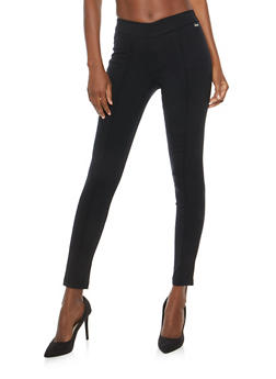Pintuck Skinny Dress Pants - 1074056570291