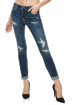 Cello Distressed Skinny Jeans - 1074063150021