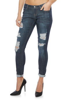 Cello Distressed Skinny Jeans - 1074063150035