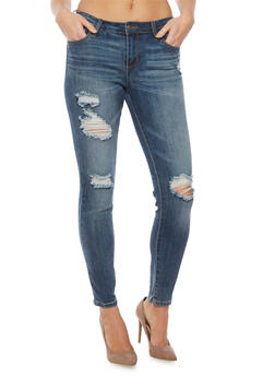 Cello Distressed Skinny Jeans - 1074063151201