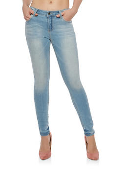 Cello Light Wash Skinny Jeans - 1074063156047