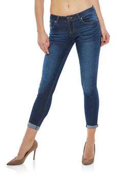 VIP Light Wash Skinny Jeans - 1074065300399