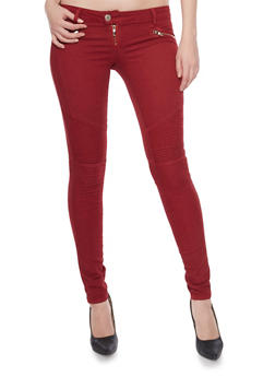 VIP Skinny Moto Jeans - 1074065301785