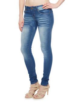 VIP Whiskered Skinny Jeans - 1074065301839