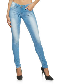 VIP Push Up Denim Skinny Jeans - 1074065301875