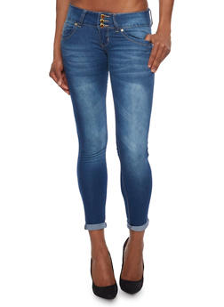 VIP Push Up Skinny Jeans with High Waist - 1074065302821
