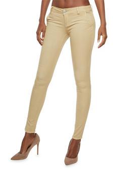 VIP Whisker Wash Skinny Jeans - 1074065302849