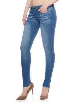 VIP Whiskered Skinny Jeans - 1074065302864