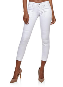 VIP Jeans Colored Jogger Pants - WHITE - 1074065302953
