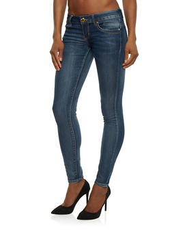 VIP Push Up Denim Skinny Jeans - 1074065305315