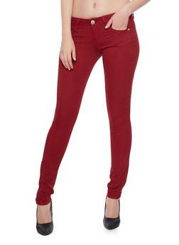 VIP Push Up Skinny Jeans - 1074065308217