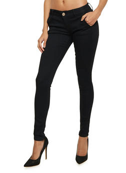 VIP Skinny Jeans with Trouser Detail - 1074065308449