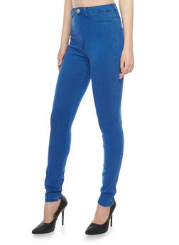 High Waisted Jeggings - 1074067540384