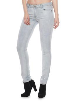 Cloud Wash Five Pocket Skinny Jeans - 1074067542206