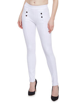 Sailor Jeggings - WHITE - 1074068193064