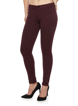 Soft Knit Jeggings - 1074068199652