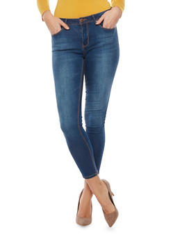 Five Pocket Skinny Jeans - 1074069398566