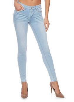 WAX Faded Skinny Jeans - 1074071610054