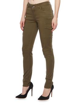 WAX Cargo Skinny Jeans - 1074071611001