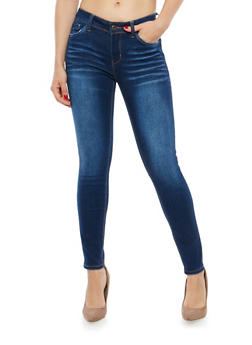 WAX Whisker Wash Skinny Jeans - 1074071611154
