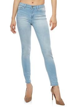 WAX Whisker Wash Basic Skinny Jeans - 1074071619052
