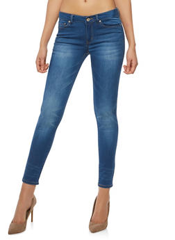 WAX Whisker Wash Basic Skinny Jeans - 1074071619052