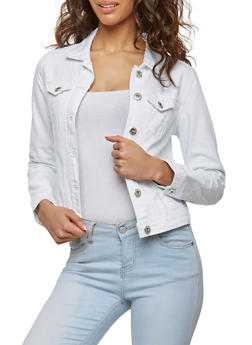 Highway Distressed Denim Jacket - 1075071318577