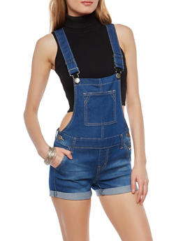 VIP Denim Shortalls - 1076065308849