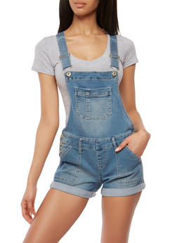Highway Denim Shortalls - 1076071312743