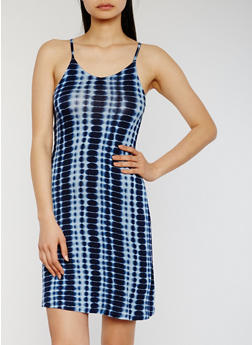 Sleeveless Tie Dye Slip Dress - 1094051063050