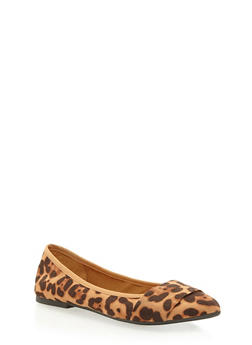 Pointed Band Skimmer Flats - LEOPARD F/S - 1110004064663